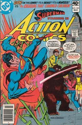 Action Comics Vol. 1 (1938-2011; 2016-) (Comic Book) #505