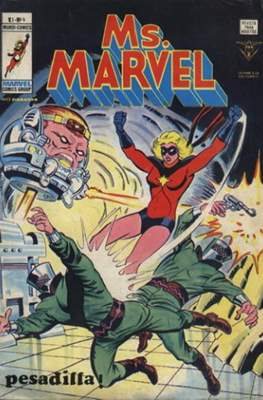 Ms. Marvel (1978) (Grapa 36 pp) #4