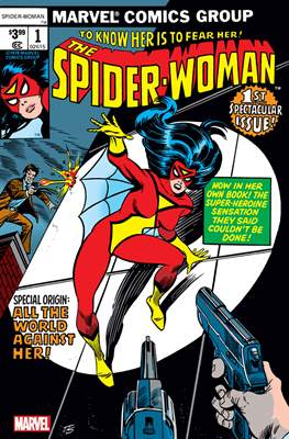 The Spider-Woman #1 - Facsimile Edition