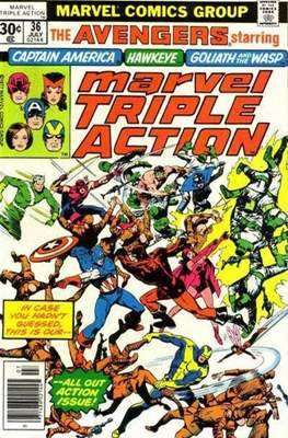 Marvel Triple Action Vol 1 (Comic-book.) #36