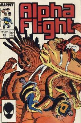 Alpha Flight vol. 1 (1983-1994) #49