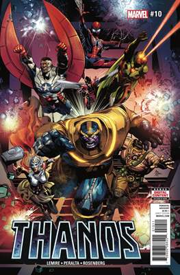 Thanos (Comic-book) #10