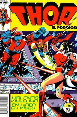 Thor, el Poderoso (1983-1987) #18