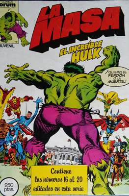 La Masa. El Increíble Hulk (Retapado 1ª Etapa. 180 páginas) #4