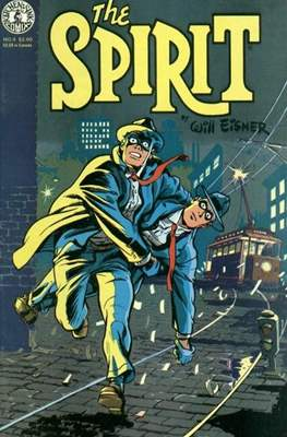 The Spirit (1983-1992) (Comic book. 32 pp) #4