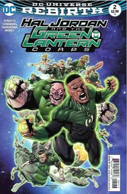 Hal Jordan and the Green Lantern Corps (2016-2018) (Comic-book) #2