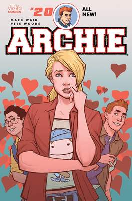 Archie (2015- Variant Cover) (Comic Book) #20