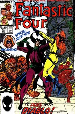Fantastic Four Vol. 1 (1961-1996) (saddle-stitched) #307