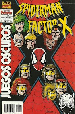 Spiderman y Factor-X: Juegos oscuros (1995) (Grapa) #3