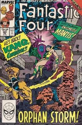 Fantastic Four Vol. 1 (1961-1996) (saddle-stitched) #323