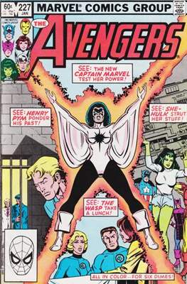 The Avengers Vol. 1 (1963-1996) (Comic Book) #227