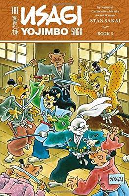 The Usagi Yojimbo Saga #5