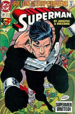 Superman Vol. 2 (1987-2006) (Comic Book) #81