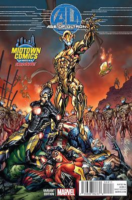 Age of Ultron: Portadas alternativas