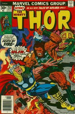 Journey into Mystery / Thor Vol 1 (Comic Book) #252