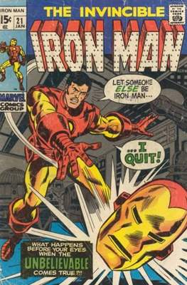 Iron Man Vol. 1 (1968-1996) (Comic book) #21