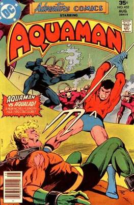 New Comics / New Adventure Comics / Adventure Comics (1935-1983; 2009-2011) (Saddle-Stitched) #452