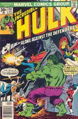 The Incredible Hulk Vol. 1 (1962-1999) (Comic Book) #207