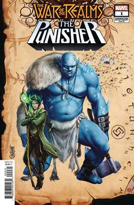 The War of the Realms: The Punisher (Variant Covers) (Comic Book) #1