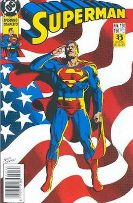 Superman: El Hombre de Acero / Superman Vol. 2 (Grapa 36 pp) #120