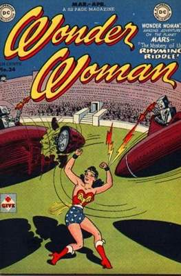 Wonder Woman Vol.1 (1942-1986; 2020-) (Comic Book) #34