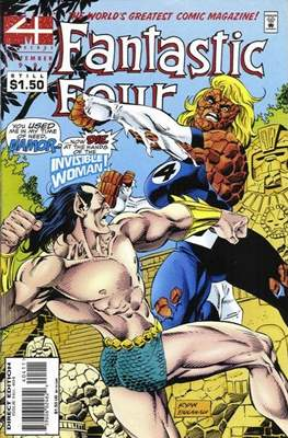 Fantastic Four Vol. 1 (1961-1996) (saddle-stitched) #404