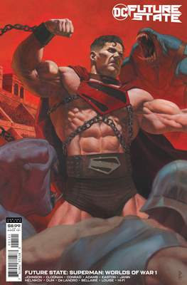 Future State: Superman - Worlds of War (Variant Cover)