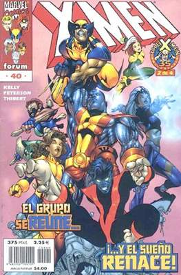 X-Men Vol. 2 / Nuevos X-Men (1996-2004) (Grapa 24 pp) #40