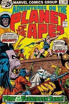 Adventures on the Planet of Apes #5