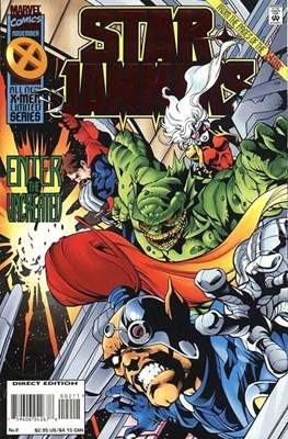 Starjammers (comic-book) #2