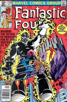 Fantastic Four Vol. 1 (1961-1996) (saddle-stitched) #229