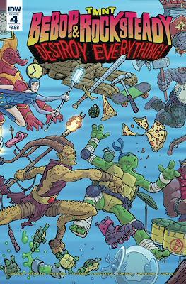 TMNT: Bebop & Rocksteady Destroy Everything (Comic book / Digital) #4