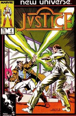 Justice. New Universe (1986) #4