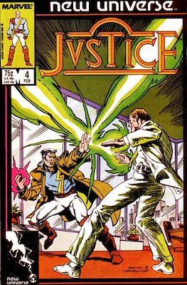 Justice. New Universe (1986) (Grapa.) #4