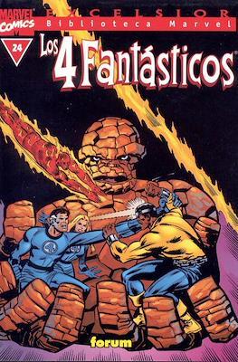 Biblioteca Marvel: Los 4 Fantásticos (1999-2001) (Rústica 160 pp) #24