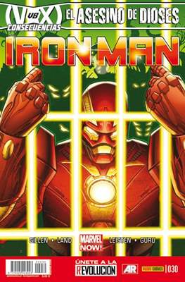 El Invencible Iron Man Vol. 2 (2011-) (Grapa - Rústica) #30