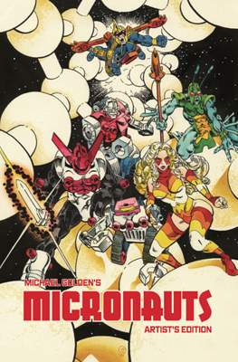 Michael Golden's Micronauts Artist's Edition – Signed and Numbered Variant