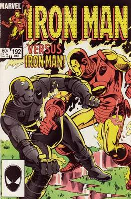Iron Man Vol. 1 (1968-1996) (Comic book) #192