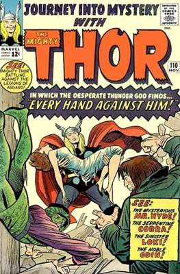 Journey into Mystery / Thor Vol 1 (Comic Book) #110