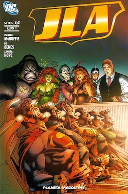JLA (2007-2009) (Grapa, 64 páginas) #14