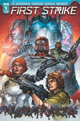 First Strike (Comic-book) #1