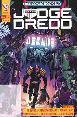 2000 Ad Presents All Star Judge Dredd Free Comic Book Day 2021