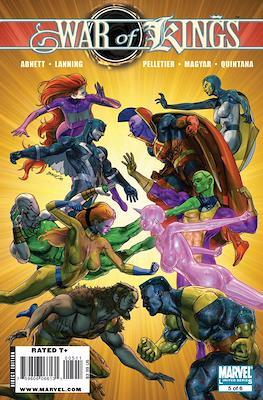 War of Kings Vol 1 (Comic Book) #5