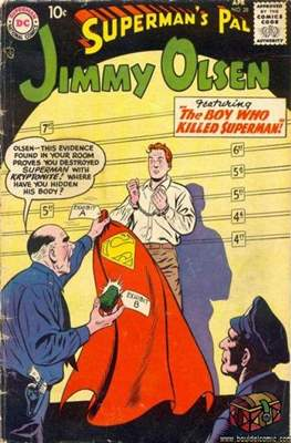 Superman's Pal, Jimmy Olsen / The Superman Family (Comic Book) #28