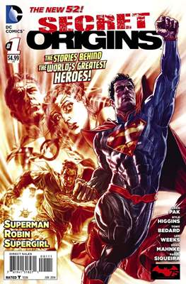 Secret Origins vol. 3 (2014-2015) (Comic-Book) #1