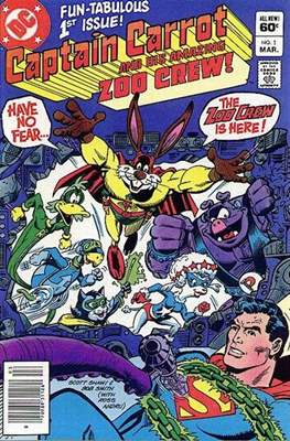 Captain Carrot and his amazing Zoo Crew (Comic Book) #1