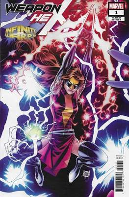 Infinity Warps: Weapon Hex (Variant Cover)