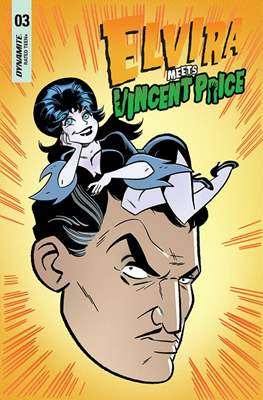 Elvira Meets Vincent Price (Variant Cover) #3.1