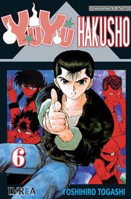 Yu Yu Hakusho (Rústica) #6