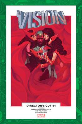 The Vision Director's Cut (Comic Book) #4